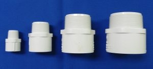 Sch 40 Male Adapters